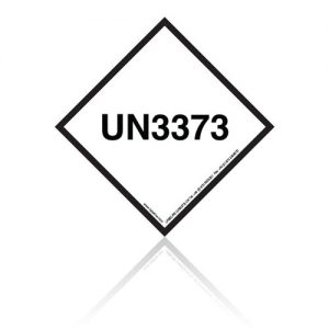UN3373 Mark for shipping biological substances