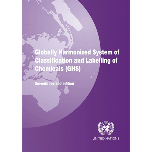 Globally Harmonized System of Classification and Labelling of Chemicals (GHS) - 8thh revised edition