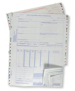 Standard Shipping Forms