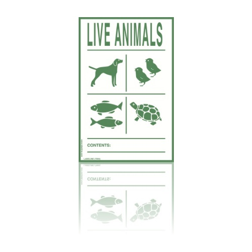 Live Animals Label Dangerous Goods Labels Labeline Com What features do these polar bears have that help them to live in this cold place? live animals label code t004