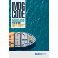 IMDG Code 39 2018 Edition Supplement