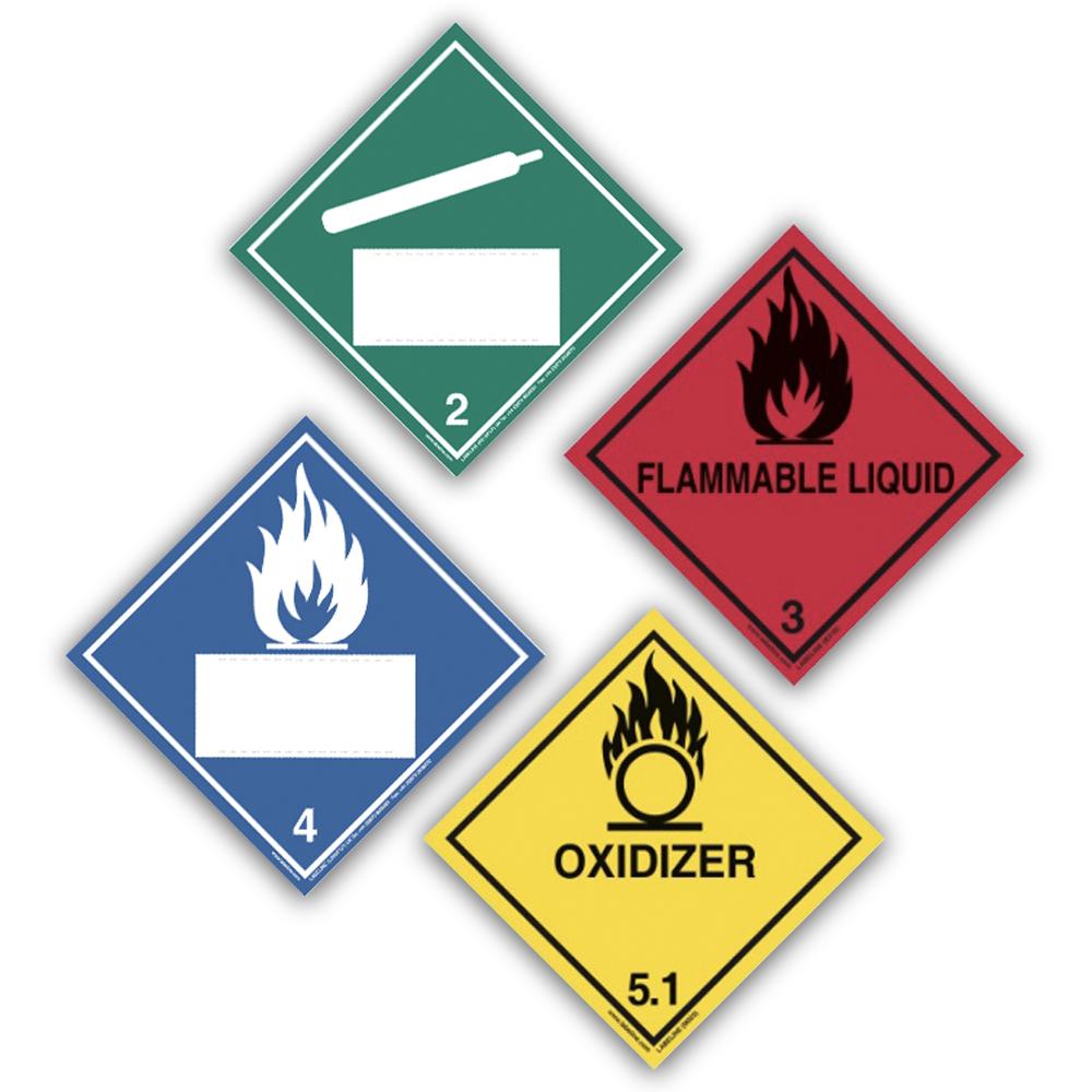 Hazard Placard Labels