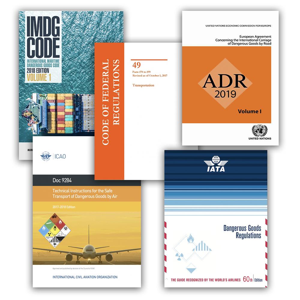 Dangerous Goods Regulations & Publications