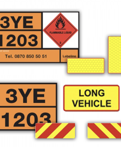 Tanker/Vehicle Placards