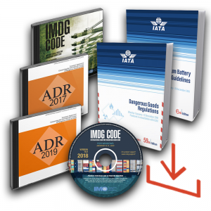 ADR, IMDG Code and IATA DG Publications