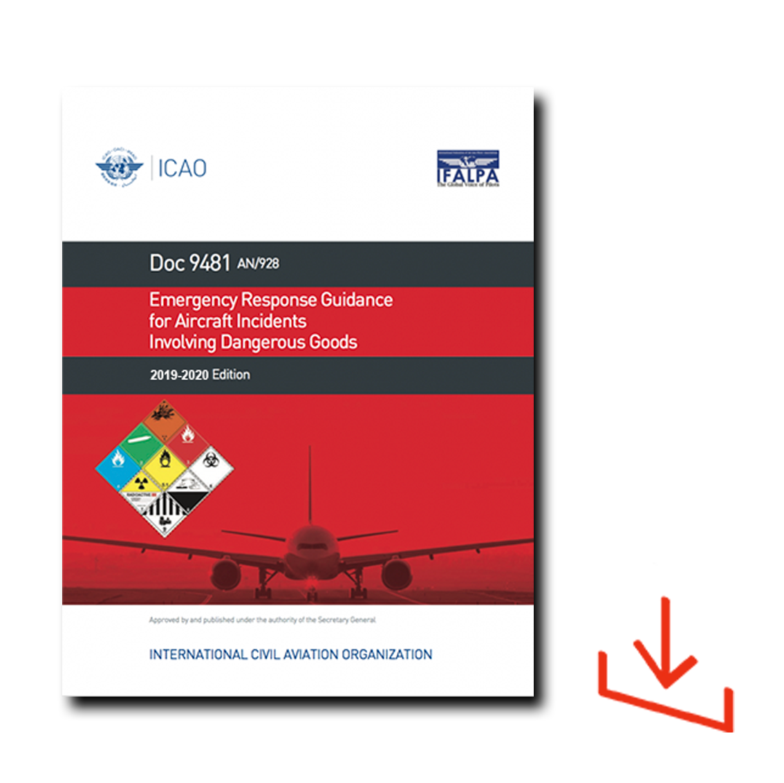 ICAO Dangerous Goods Emergency Response Guide 2019-20, Download - Code  ICAO/ERG19