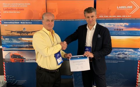 "Labeline Awarded IATA's Top Distributor Award ""Worldwide"" for 10th Year in Succession"