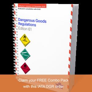 IATA DGR 61st Spiral Edition 2020