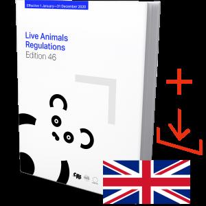 IATA Live Animal Regulations Edition 46 English, Book and Download