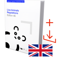 IATA Live Animal Regulations Edition 46 English, Book and Download