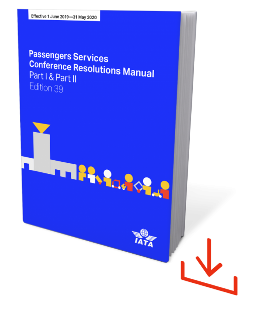 IATA Passenger Services Conference Resolution Edition 39 Download