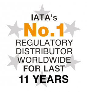 IATA No 1 regulatory distributor for 11 years