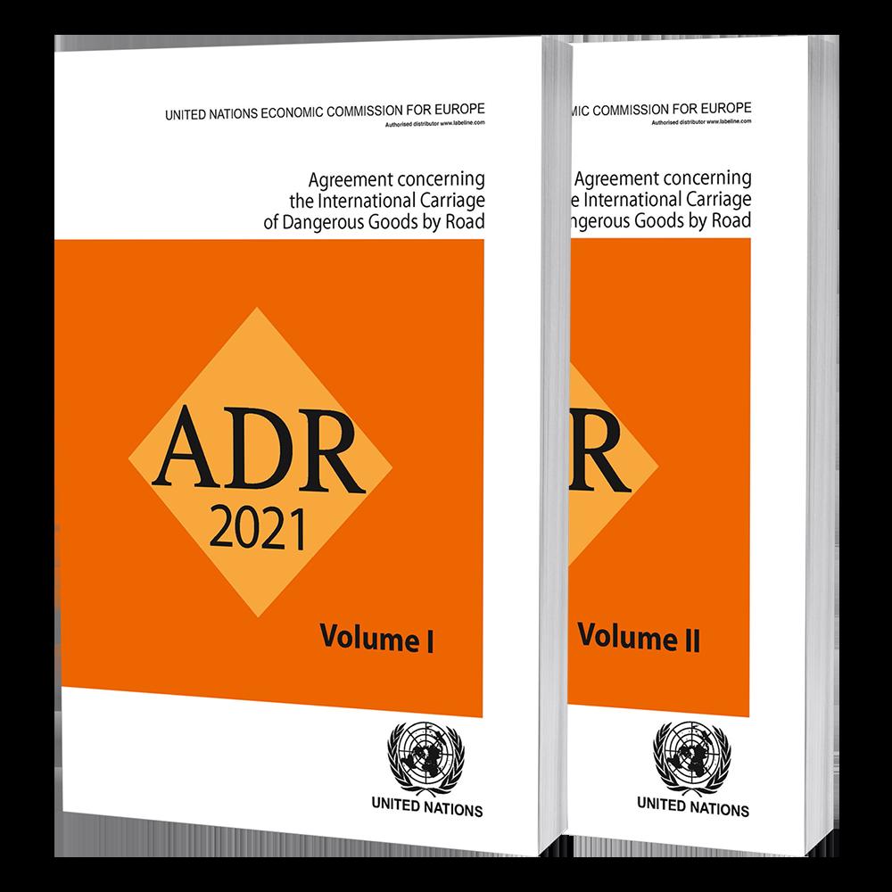 Regular/Perfect Bound ADR 2021, UN ADR 2021, Dangerous Goods by Road