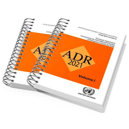 UNADR Spiral 2021, ADR 2021, Dangerous Goods by Road