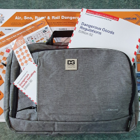 IATA DGR 62nd Edition 2021 with laptop bag