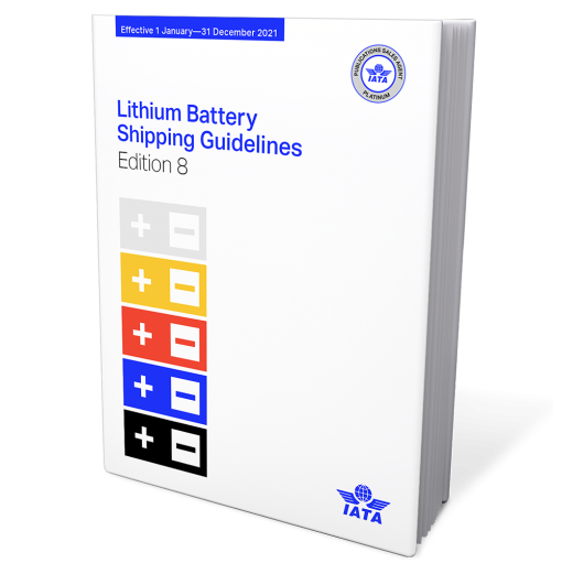 IATA Lithium Battery Shipping Guidelines 8th Edition