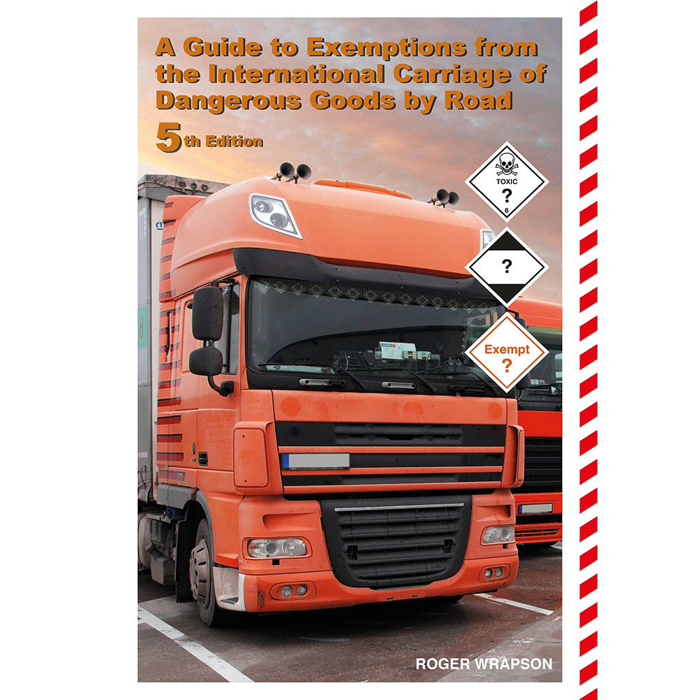 Guide to Exemptions, Dangerous Goods by Road, ADR 2021
