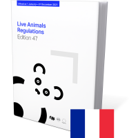 Live animals regulations 47th Edition 2021 French