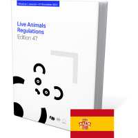 Live animals regulations 47th Edition 2021 Spanish