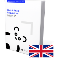 Live animals regulations 47th Edition 2021 Book