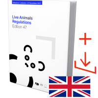 Live animals regulations 47th Edition 2021 Download and Book