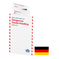 IATA DGR Quick Reference Guide 2021 German