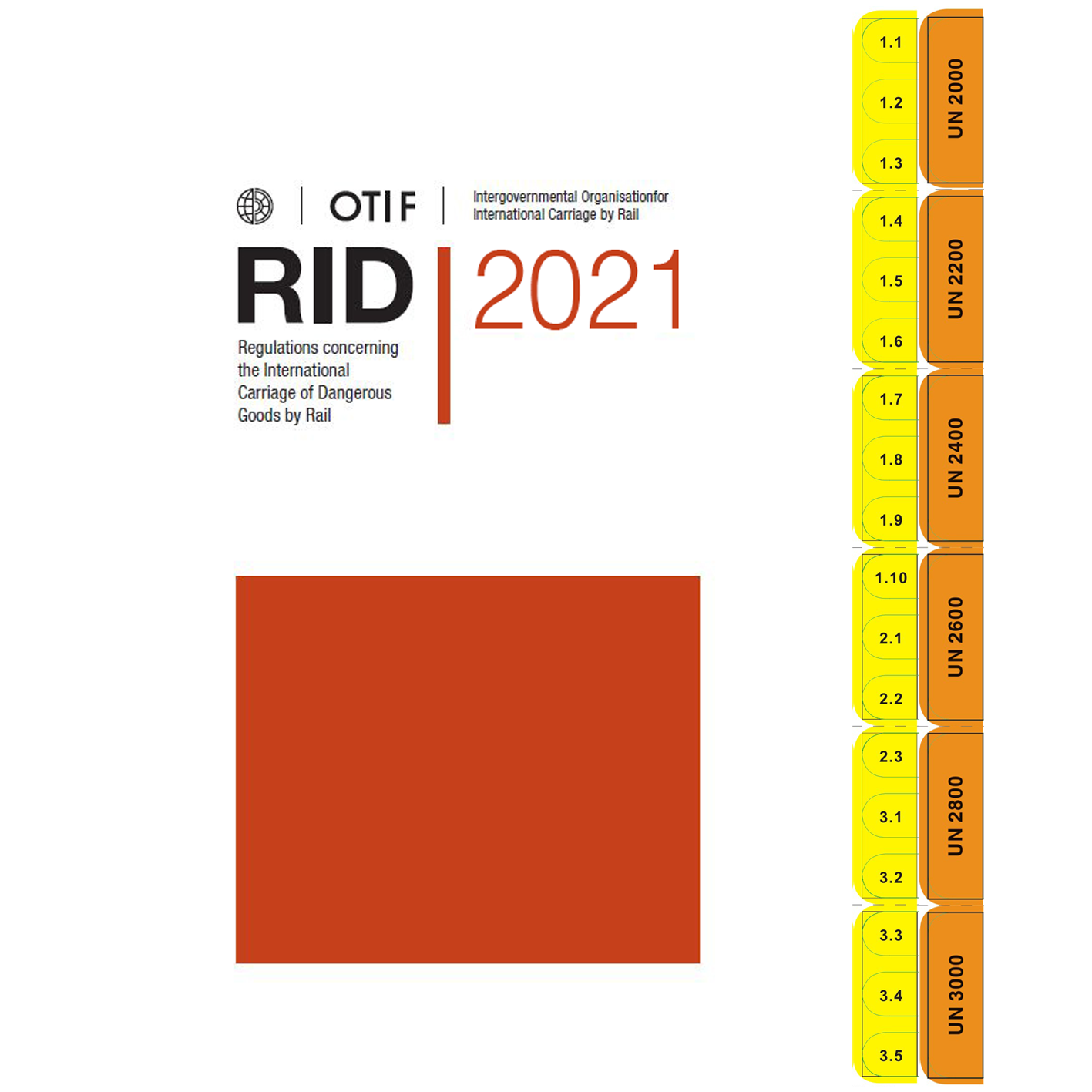 Rail Regulations 2021 with DGTabs