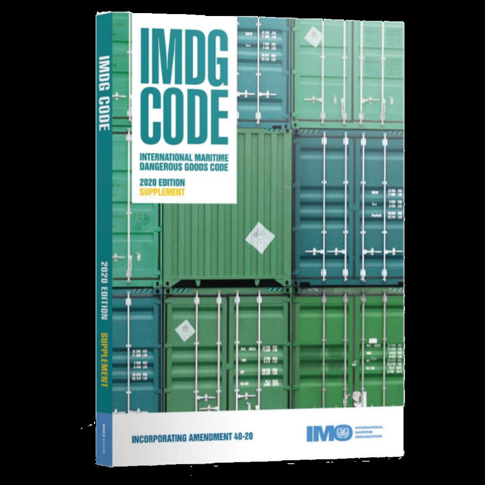 IMDG Code Supplement 2020 Edition