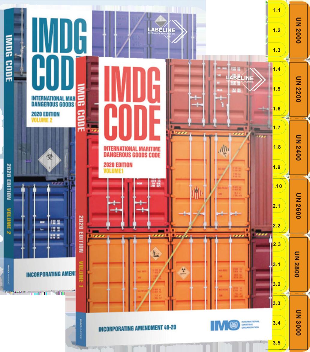 IMDG Code 2 Volume Set 2020 Edition