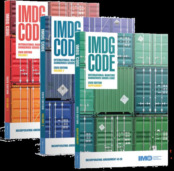 IMDG 2020 Volumes 1 & 2 and Supplement